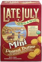 Late July Snacks Organic Mini Peanut Butter Crackers