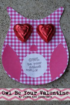 Homemade Valentines :: Owl Be Your Valentine