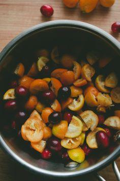 Cranberry and Kumquat Sauce foods, kumquat recipes, sauces, thought, kumpuat sauc, cocktails, cranberries, kumquat sauc, thanksgiv cocktail