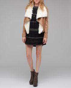 need supply shearling lined jacket