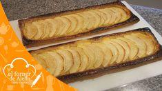 Tarta de Hojaldre con Manzana realizada con crema pastelera, muy fácil de elaborar. Si hacéis los pasos de esta receta o mejor si miráis el video, veréis lo que podéis llegar a hacer que seguro entusiasmará a vuestros invitados.