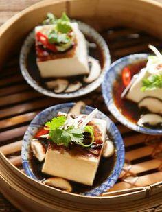 Aromatic silken tofu