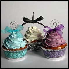 wedding favors, faux cupcak, cupcakes to go, food, wedding cupcakes, eleg cupcak, pretti cupcak, parti, eat cupcak