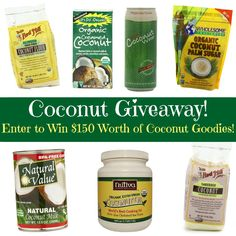 Enter to Win $150 Worth of Coconut Goodies!