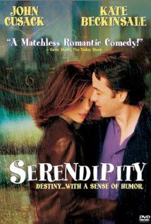 """Serendipity"" starring John Cusack and Kate Beckinsale.   http://www.youtube.com/watch?v=ePU2Ux9JIMM"
