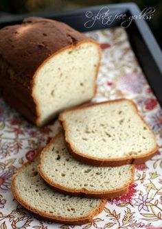 Delicious Gluten-Free Bread Recipe - dairy-free and rice-free, too. from gluten free goddess.