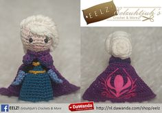 Ravelry: Princess Elsa Coronation Day - Frozen - Crochet Pattern pattern by Eelz Crochet
