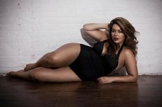 Brazilian Plus Size model Fluvia Lacerda