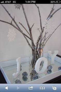 Decoration for baby shower table