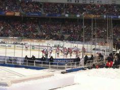 Devils vs. Rangers at Yankee Stadium