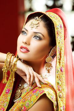 IndoPak Bride, via Angie's Salon, Pakistan