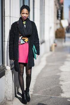 nima ford model from new york | new york fashion week fw13