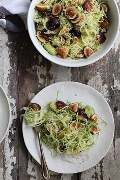 fig zucchini noodles |