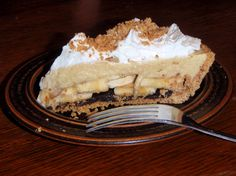 Black Bottom Banana Cream Pie (gluten-free, dairy-free)