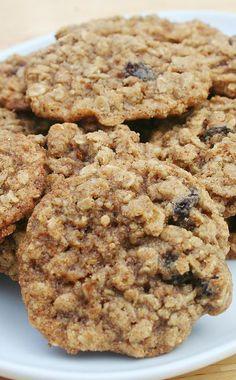 Raisin Pecan Oatmeal Cookies Recipe