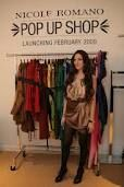 Nicole Romano pop-up shop