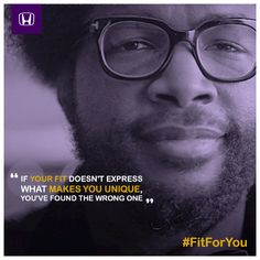 Your fit should express your uniqueness, or you've found the wrong one. #FitForYou