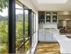 Another view of this light filled kitchen! kitchen photo, house design, modern kitchen design, interior design kitchen, design interiors, kitchen interior, kitchen windows, kitchen designs, home interior design