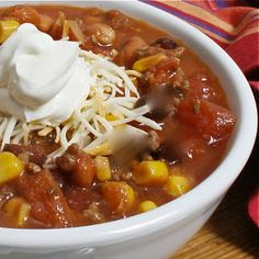 6 Can Soup, easy pantry meal