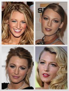 blake lively - makeup