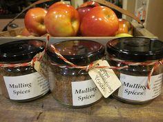 Homemade Mulling Spice Favors