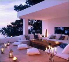 Amazing patio.