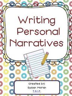 Writing Personal Narratives! {K-3 Writing Unit}