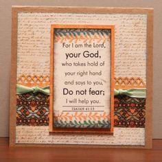 Scripture Encouragement card