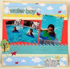 Water boy *My Little Shoebox* - Scrapbook.com