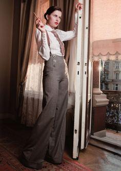 Vintage-inspired fashion from Lena Hoschek.