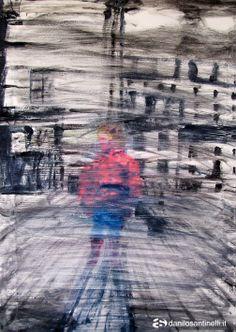 "Danilo Santinelli ""Far away in time"" oil on canvas 50x70cm"