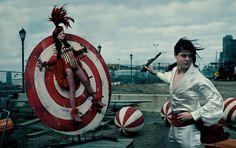 music, the white stripes, inspir, jack white, annie leibovitz, anni liebovitz, anni leibovitz, circus, photographi