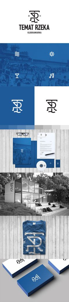 Temat Rzeka by Gustaw Dmowski, via Behance | #stationary #corporate #design #corporatedesign #identity #branding #marketing < repinned by www.BlickeDeeler.de | Take a look at www.LogoGestaltung-Hamburg.de