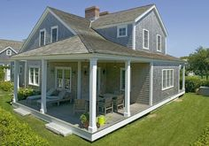 Hedge Hill House.. Nantucket, MA, great backporch space