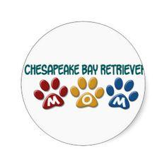 Chesapeake Bay Retriever Stickers, Chesapeake Bay Retriever Sticker Designs