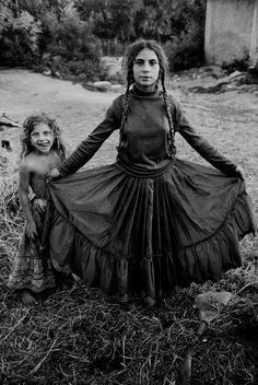 Roma gypsy girl