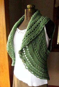 CIRCULAR SHRUG CROCHET PATTERNS Crochet Patterns Only
