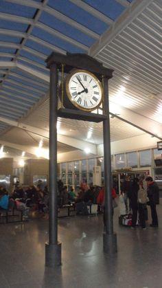 Reloj de estación.