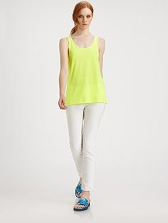 Christopher Kane Cotton Blend Tank
