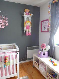 grey girls room