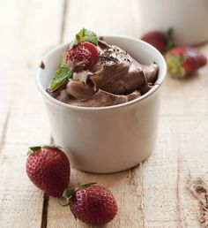 Chocolate Mousse #recipe. Velvety smooth, rich and decadent!
