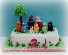 Barbapapa' cake by Alessandra Cake Designer, via Flickr