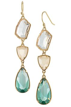 Stella & Dot Pippa Stone Earrings, $49! msg me for a catalog or shop www.stelladot.com/katiecramer