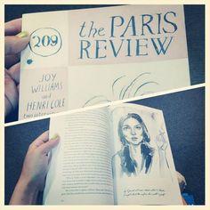 Reading The Paris Review at Barnes & Noble, Union Square, Manhattan.