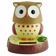 Solar Owl Desk Pet