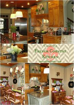 French Country Kitchen Tour!