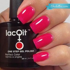 Topless in the Tropics from the New LacQit summer poolside / beach collection . 11.99 - 30 gel manicures per bottle . Www.lacit.com