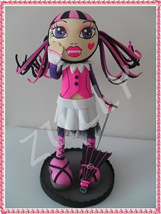 TUTORIAL FOFUCHA DRACULAURA MONSTER HIGH