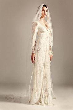 Temperley London's Jessamine Wedding Dress 20 of The Most Distinctly Stunning Long Sleeve Wedding Dresses
