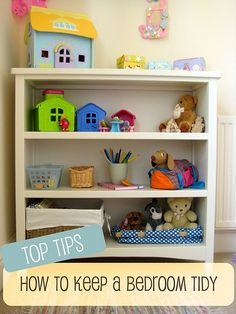 Great tips on how to keep a bedroom tidy